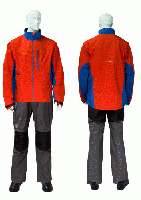 RAIN JACKET FISHINGSP/eVent/ 01POPPY ORANGE